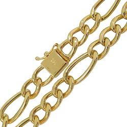 Corrente em Ouro Masculina Fígaro 18g - JC000518-0 - RDJ JÓIAS