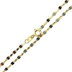 Cordão Feminino de Ouro 18K modelo Xadrezinho 45cm... - RDJ JÓIAS