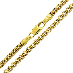 Corrente de Ouro 18K Design Italiano 50cm - JC0013... - RDJ JÓIAS