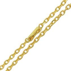 Corrente Masculina Maciça em Ouro 18K 70cm - JC001... - RDJ JÓIAS