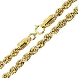 Cordão Trancelim de Ouro 18K 50cm - JC0015210 - RDJ JÓIAS