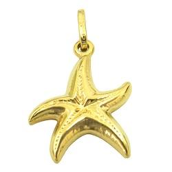 Pingente Estrela do Mar em Ouro 18K - JPGR000622- - RDJ JÓIAS