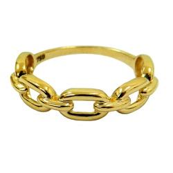 Anel Corrente em Ouro 18k - J14501171 - RDJ JÓIAS