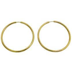 Argola em Ouro 18k Africana - J01800176 - RDJ JÓIAS