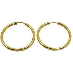 Argola de Ouro 18k 26mm - J01800188 - RDJ JÓIAS