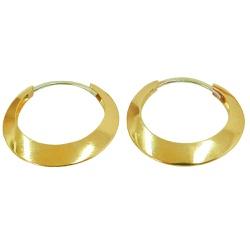Argola de Ouro 18k - J06105224 - RDJ JÓIAS