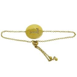 Pulseira em Ouro Letra com Brilhantes - J07601748 - RDJ JÓIAS