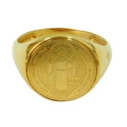 Anel em Ouro 18k São Bento - J12400318 - RDJ JÓIAS