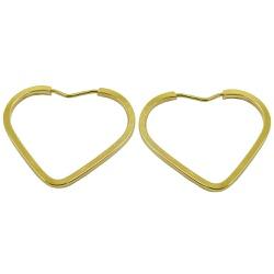 Argola em Ouro Coração - JBAR000121-3 - RDJ JÓIAS