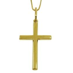 Crucifixo de Ouro 18k 0,750 - J03101161 - RDJ JÓIAS