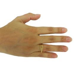 Anel de Ouro 18k laço com Brilhantes - JAR000123-... - RDJ JÓIAS