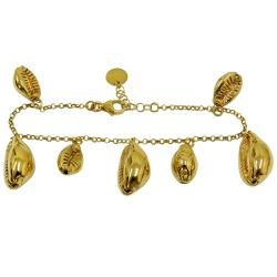 Pulseira em Ouro com Búzios - J12200161 - RDJ JÓIAS