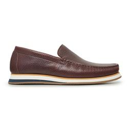 Sapato Casual Tokio Masculino Couro Mouro - 998 - Loja Riccally