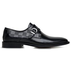 Sapato Social Masculino Monkstrap Damas Preto - 32... - Loja Riccally