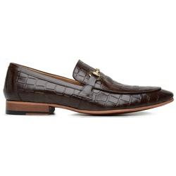 Sapato Social Masculino Croco Moss - 58850 - Loja Riccally