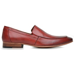 Sapato Social Masculino Vegetal Red - 58854 - Loja Riccally