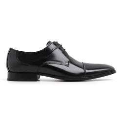 Sapato Social Masculino Couro Preto Riccally - 50 - Loja Riccally
