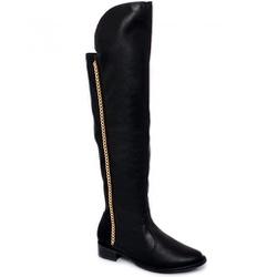 Bota Over Knee Corrente Beira Rio - Rilu Fashion