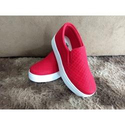 Slip On Matelassê Vermelho DKShoes - Rilu Fashion