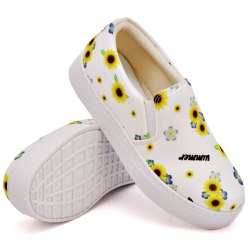 Slip On Estampado Branco DKShoes - Rilu Fashion