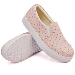 Slip On Estampado Rosê DKShoes - Rilu Fashion