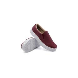 Slip On Liso Infantil Marsala DKShoes - Rilu Fashion