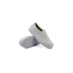 Slip On Matelassê Infantil Branco DKShoes - Rilu Fashion