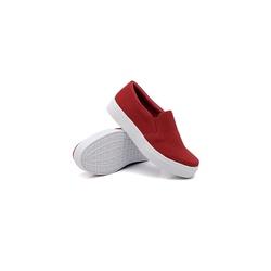 Slip On Liso Infantil Vermelho DKShoes - Rilu Fashion