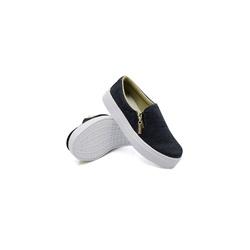 Slip On Zíper Infantil Jeans DKShoes - Rilu Fashion