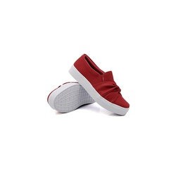 Slip On Nó Infantil Vermelho DKShoes - Rilu Fashion