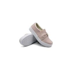 Slip On Pérola Infantil Rosê DKShoes - Rilu Fashion