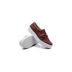 Slip On Pérola Infantil Marsala DKShoes - Rilu Fashion