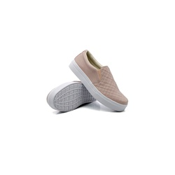 Slip On Matelassê Infantil Rosê DKShoes - Rilu Fashion