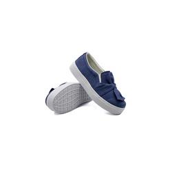 Slip On Laço Infantil Jeans Claro DKShoes - Rilu Fashion