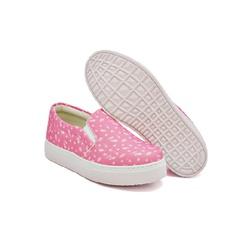 Slip On Estampado Infantil Pink DKShoes - Rilu Fashion
