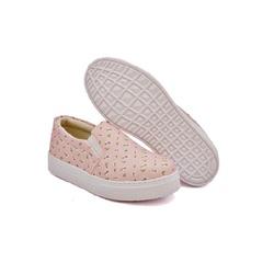 Slip On Estampado Infantil Rosê DKShoes - Rilu Fashion