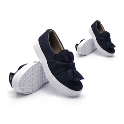 Tal mãe, tal filha: Slip On Laço Jeans DKShoes