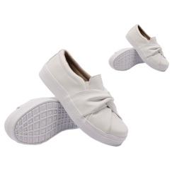 Tal mãe, tal filha: Slip On Nó Branco DKShoes