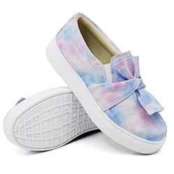 Slip On Laço Tie Dye DKShoes - Rilu Fashion