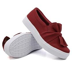 Slip On Laço Vermelho DKShoes - Rilu Fashion
