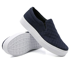 Slip On Matelassê Jeans DKShoes - Rilu Fashion