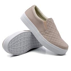 Slip On Matelassê rosê DKShoes - Rilu Fashion
