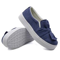 Slip On Laço Jeans Claro DKShoes - Rilu Fashion