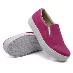Slip On Liso Pink DKShoes - Rilu Fashion