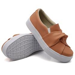 Slip On Nó Laranja Papaya DKShoes - Rilu Fashion