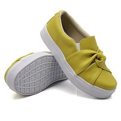 Slip On Nó Mostarda DKShoes - Rilu Fashion