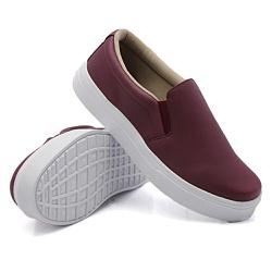 Slip On Liso Marsala DKShoes - Rilu Fashion