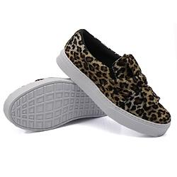 Slip On Laço Onça DKShoes - Rilu Fashion
