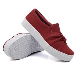 Slip On Nó Vermelho DKShoes - Rilu Fashion