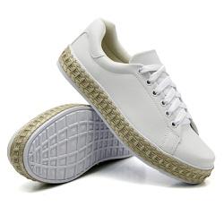 Tênis Casual Pietra Corda Branco DKShoes - Rilu Fashion